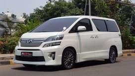 Toyota Vellfire 2.4 Z 2013 Mulus!!!