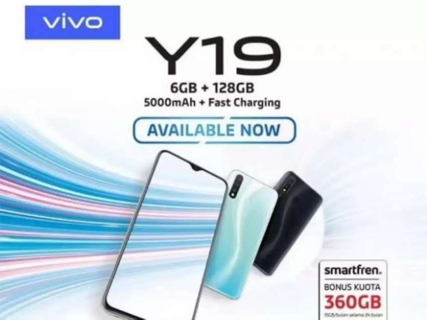 Vivo Y19 128gb kredit nya proses cepat 0