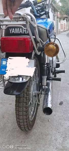 Rx 100 modified  bike.good condition