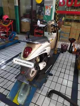 Djual Honda Scoopy karbu siap pakai