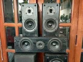 Onkyo 5 Channel Speakers