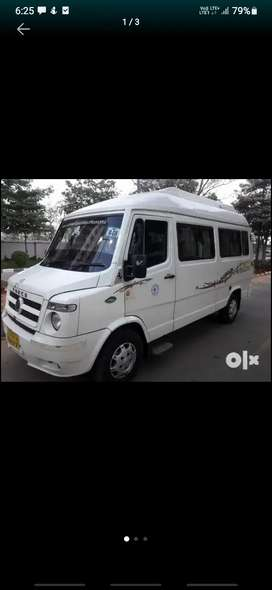 Tempo Traveller for hire only. Rs 16 per Km