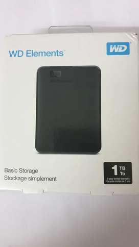 WD external HDD 1TB