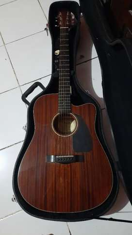 Fender cd60ce akustik