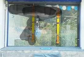 Full Glass door in shop