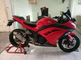 Ninja fi 2013 cash kredit Bali Dharma motor