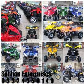 Big Stock 50cc to 250cc Atv Quad Bikes Available at Subhan Enterprises