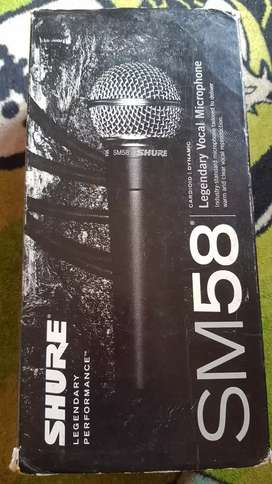 Mic shure sm 58 original made in mexico