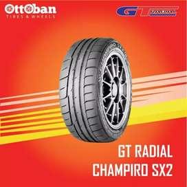 Sedia ban murah size 225/45 R17 GT radial Champiro Sx2