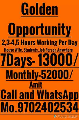 Great Opportunity Extra Income
