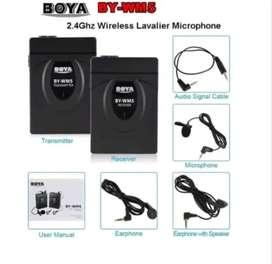 Jual Boya BY-WM5 wireless microphone