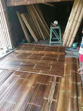 Melayani pembuatan tirei bambu