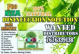 Wanted distributors Pro neem natural disinfection solution