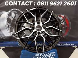 Velg New HSR Type Botawa Ring 15 Cocok Agya,Avanza,Vios,Datsun dll...