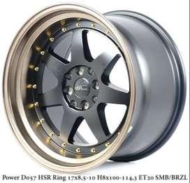 velg mobil selatan model -Power D057 HSR 17 , Latio, Livina, Livina