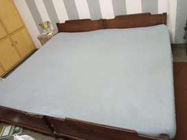 Single beds pure wooden. Vintage