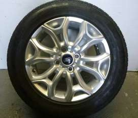 ECOSPORT ALLOY WHEELS AND TYRE : ONE PIECE