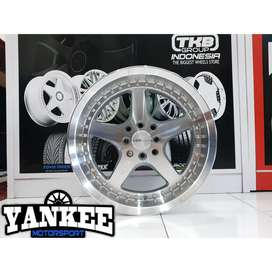 Velg HSR Wheel Type ARMBAR Ring 16 Untuk Jazz, Brio, Agya, Xenia, RS