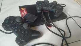 PS2 Slim free 2 stick dan flasish