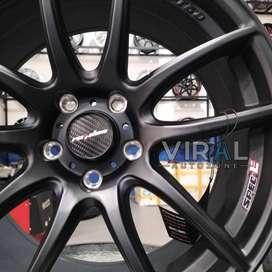 Velg Mobil Civic R18 Pelak Lenso Projec E Ring 18 Lobang 5 Pelek Mobil