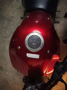 Yamaha bike red color