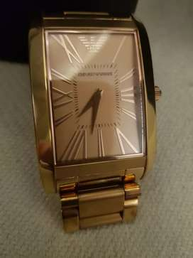 Men's Emporio Armani Classic Rosegold Watch