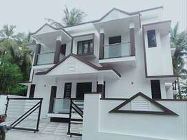 A NEW FURNISHED 4BED ROOM 1800SQ FT 4.2CENTS HOUSE IN ADATU,THRISSUR