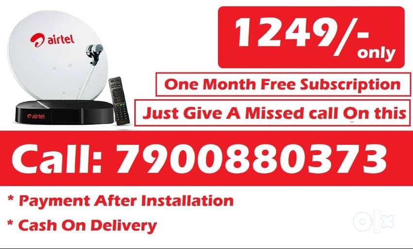 Bihar Airtel DTH Dishtv TataSky HD SD Box All over india offer 0