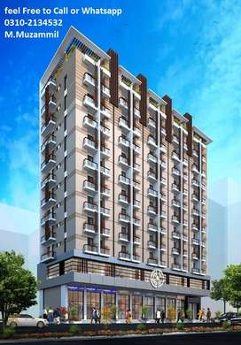 Book your Apartment in 5 lacs at Prime Location of Karachi
