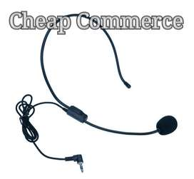 Portable earphone headset microphone wired 3.5mm condenser microphone
