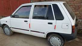Only serious buyer can contact for white Mehran 89 model lahore no