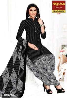 Women Kurta Sets  Kurta Fabric: Cotton