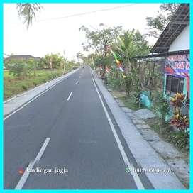 Mangku Jalan Aspal, SHM Pekarangan Dijual Tanah Murah Godean