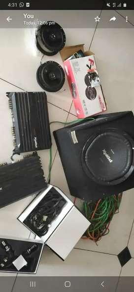 Sony set woofer spekar amplifier