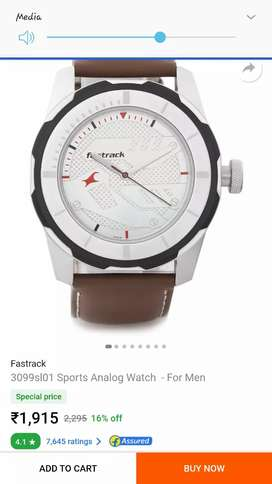 Fast trck watch