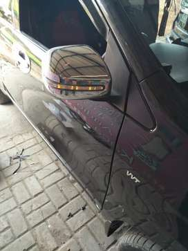 Cover spion crome all new avanza + lampu sen sipit