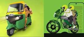 Ola Bike 8rs per km & AUTO Attach 12rs Per Km Earn Daily Money