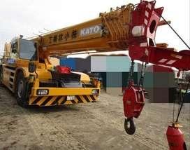 Jual Rough Terrain Crane Kato KR50H-L2 tahun 2008