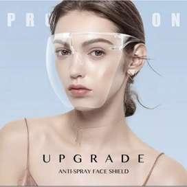 Face Shield Acrylic Raffi full Face Nagita no Box Satuan Transparan