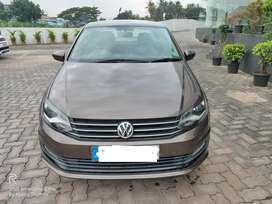 Volkswagen Vento Comfortline Petrol AT, 2016, Petrol