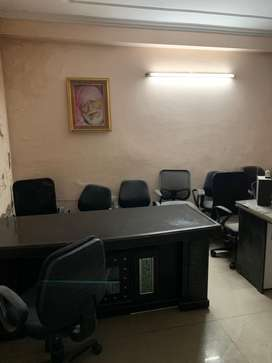 Furnished office space is available for rent