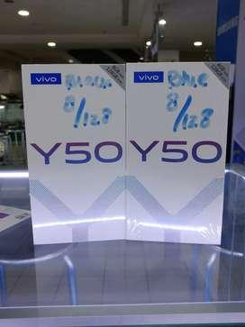 Vivo y50 8/128 barang baru garansi vivo 1 tahun