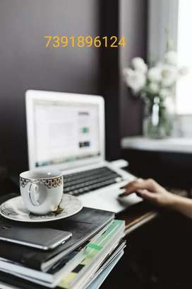 want a home based online or typing work!!