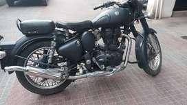 EXCELLENT CONITION MATTE BLACK CLASSIC 350