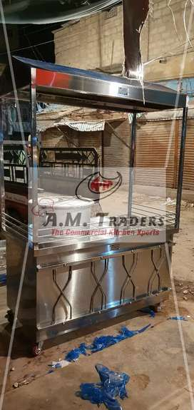 Stainless Steel Counters, B.B.Q Pit, Shawarma Counter, Display Counter