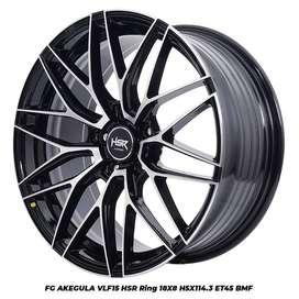 Velg Mobil Terios dll FG AKEGULA HSR R18X8 H5X114,3 ET45 BMF