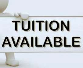 Online tuitions available