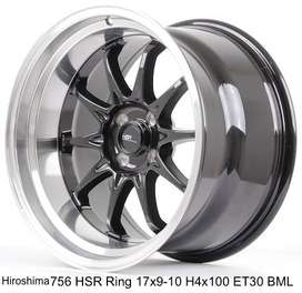 JUAL VELG RACING;HSR R17X9/10 H4x100 ET30 BML