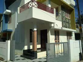 3 bhk 1200 sqft 4 cent new build house at paravur near cheriyapally