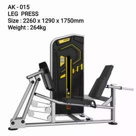 Alat fitness comercial body strong legpress